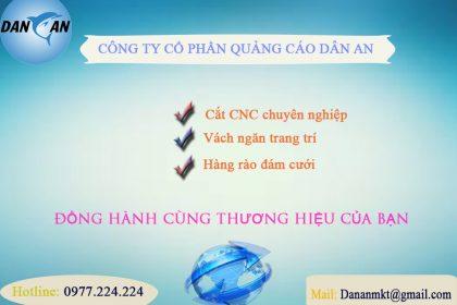 Cắt CNC ở tại Thanh Hóa